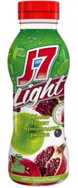 Нектар J7 Light Яблоко Гранат Черноплодная рябина