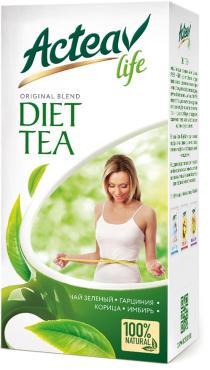 Чай Acteav Life Диета 25 пакетиков