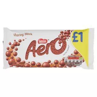 Батончик Nestle Aero Milk Bar