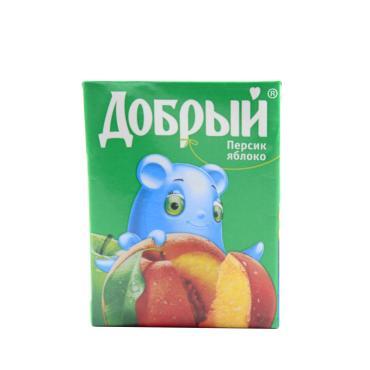 Нектар Добрый Персик-яблоко 200мл