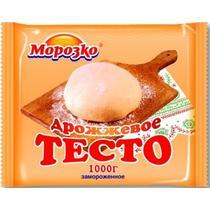 Тесто Морозко замороженное дрожжевое