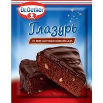 Глазурь Dr.Oetker со вкусом темного шоколада