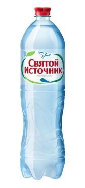 Вода питьевая Святой источник Газированная