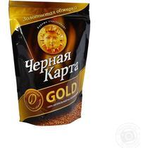 Кофе растворимый Чёрная карта Gold арабика сублимированный, 150 гр., дой-пак, 6 шт.