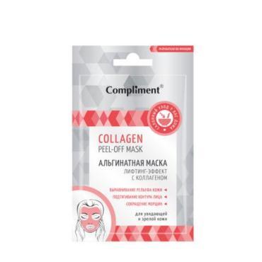 Маска для лица Compliment лифтинг-эффект с коллагеном альгинатная