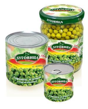 Горошек Луговица зеленый