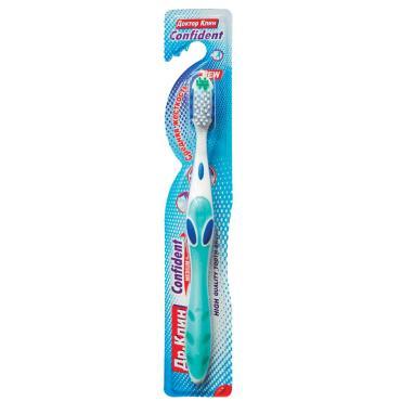 Зубная щетка Dr.Clean Confident Средняя жесткость