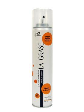 Подарочный набор La Grase Объем и блеск Лак 250мл + Мусс 150мл + пилка