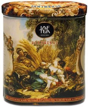 Чай JAF TEA Искушение черный, сорта ОРА с лепестками орхидеи, 150 гр.