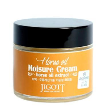 Крем для лица Jigott Horse Oil Extract