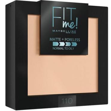Пудра для лица Maybelline New York Fit Me матирующая 110 светло-кремовый