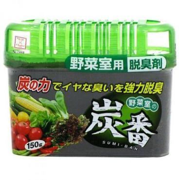 Поглотитель запаха Kokubo Sumi-Ban угольный, для овощной полки холодильника