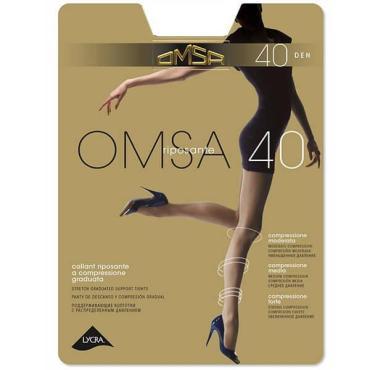Колготки OMSA 40 den, 5/XL, Сaramello-4