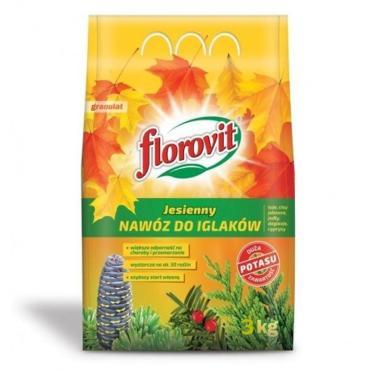 Удобрение гранулированное Florovit Для хвойных растений осеннее
