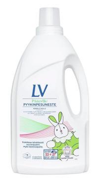 Средство жидкое для стирки детского белья концентрированное LV Berner, 1,5 л., Пластиковая бутылка