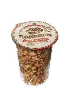 Попкорн JAM Двойная карамель (стакан) 100 гр. * 1 (1=14)