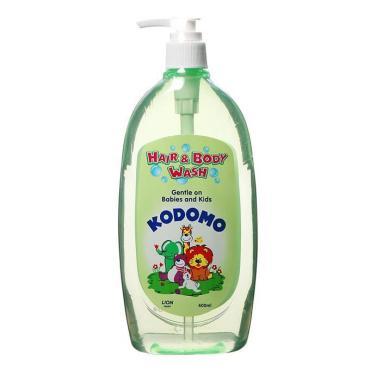 Средство для мытья От макушки до пяточек для детей Кодомо, 200 мл., пластиковый флакон с дозатором