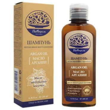 Шампунь Elfa Naturel Boutigue для интенсивного восстановления с маслом аргании