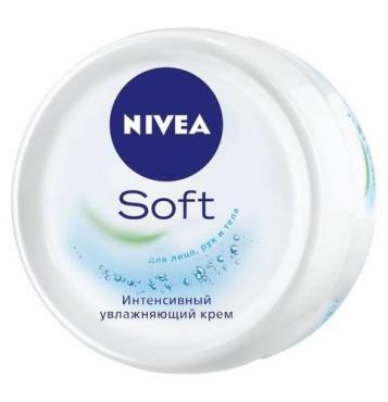 Крем Nivea Soft для лица