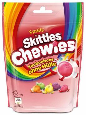 Драже Skittles Chewies Fruits, 152 гр., дой-пак
