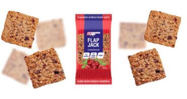 Печенье Флэпджек клюквенное овсяное протеиновое, Protein Rex, 60 гр., флоу-пак