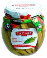 Бамия маринованная, Tamara Fruit, 520 гр., стекло
