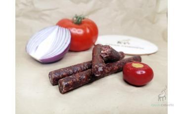 Колбаски из оленины с перцем Чибичете, 60гр