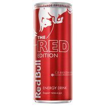 Энергетический напиток Red Bull Red Edition со вкусом клюквы