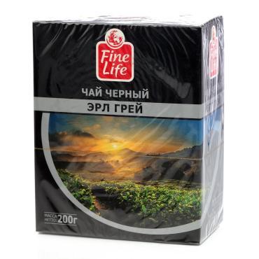 Чай черный Fine Life Эрл грей листовой