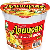 Картофельное пюре Доширак со вкусом мяса