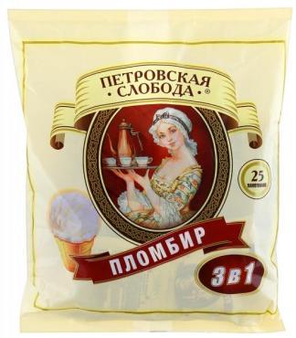 Кофе Петровская Слобода Пломбир 3в1 18 гр.