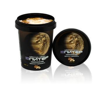Мороженое Небесные сферы Юпитер Арахисовое с карамелью