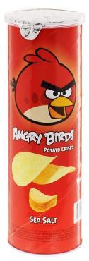 Чипсы Angry Birds с морской солью