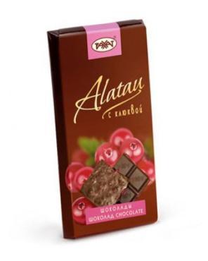 Шоколад Рахат Алатау с клюквой