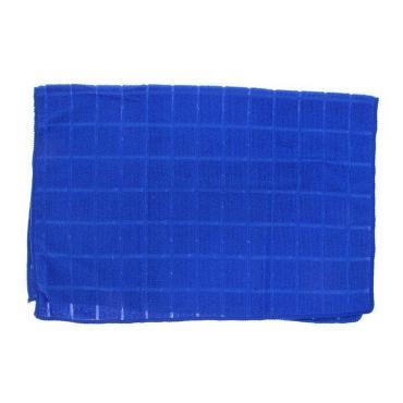 Тряпка для мытья пола Доляна Клетка 50×70 см. микс
