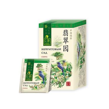 Чай зеленый Green Panda Нефритовый Сад 25 пак