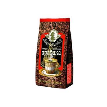 Кофе Петр Великий Арабика в зернах 1 кг