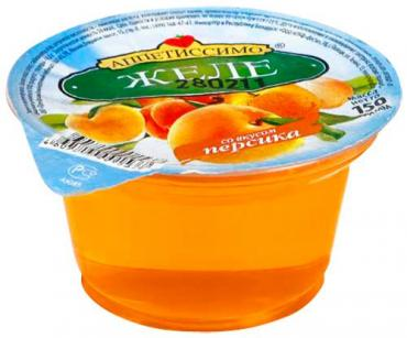 Желе Аппетиссимо Со вкусом персика