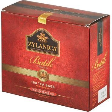 Чай черный Zylanica Batik Design 100 пакетов