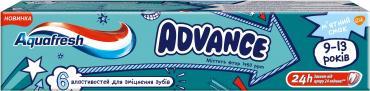 Зубная паста Aquafresh Advance 9-13 лет