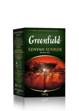 Чай Greenfield Kenyan Sunrise черный листовой