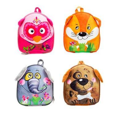 Рюкзак детский, полиэстер, ЭВА, 26,5х22см, 4 дизайна, КВ2017-9