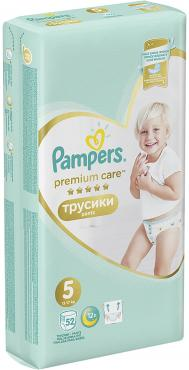 Трусики Pampers Premium Care р.5 12-17 кг. 52 шт.
