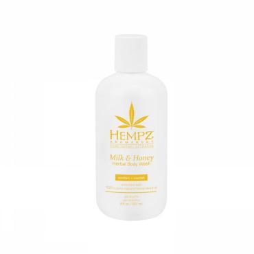Гель для душа Hempz Milk & Honey Herbal, 237 мл., Пластиковая бутылка