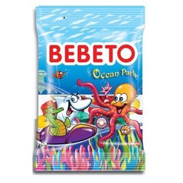 Мармелад жевательный Bebeto Ocean Park, 80 гр., флоу-пак