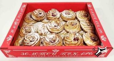 Печенье Золотой пекарь КФ Лилия с творогом