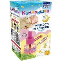 Жидкость Чистый дом Комаришка от комаров детский