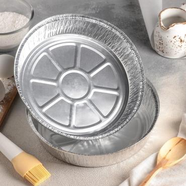 Набор форм для выпечки Доляна 1,45 л. фольга 2 шт.
