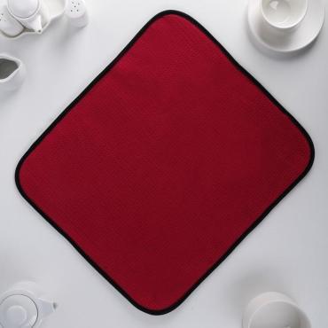 Салфетка кухонная Доляна 38х50 см. из микрофибры микс