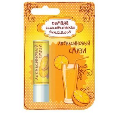 Помада гигиеническая Лакомка Апельсиновый смузи 2,8 гр., Пластиковая упаковка
